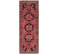 Link to 3' 6 x 10' Hamedan Persian Runner Rug
