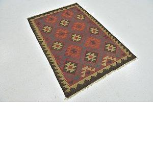 Link to 100cm x 147cm Kilim Maymana Rug item page