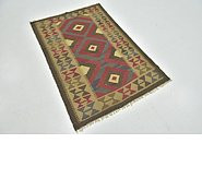 Link to Unique Loom 3' 2 x 5' Kilim Maymana Rug