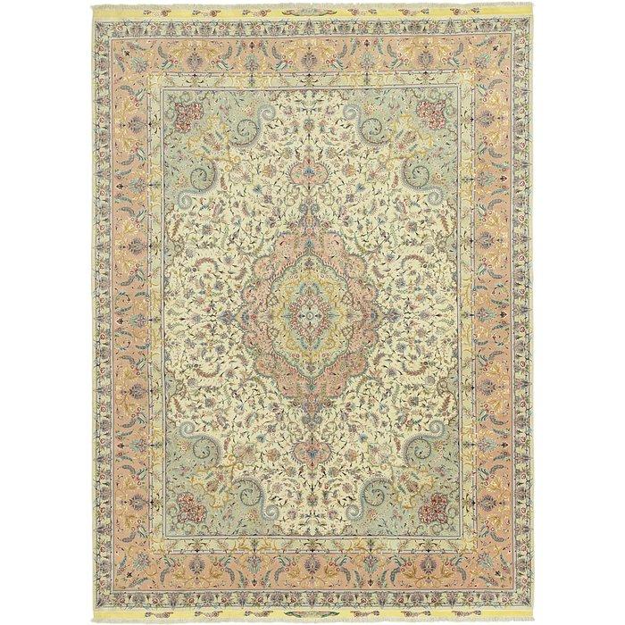9' 9 x 13' 7 Tabriz Persian Rug