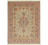 Link to 9' 10 x 13' Tabriz Persian Rug