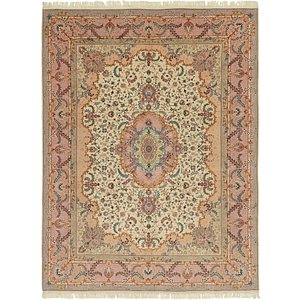 HandKnotted 9' 10 x 13' Tabriz Persian Rug