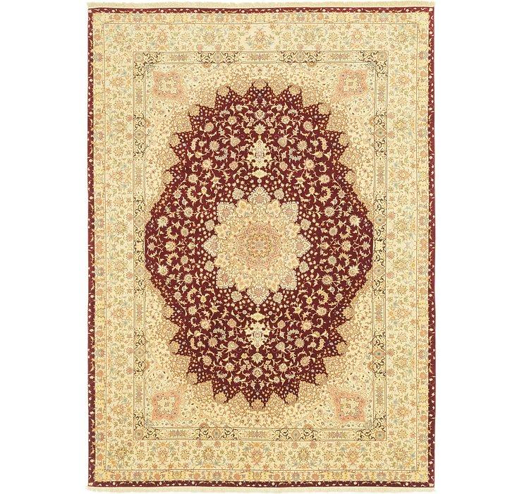 9' 9 x 13' 6 Tabriz Persian Rug