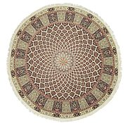 Link to 13' 3 x 13' 3 Tabriz Persian Round Rug