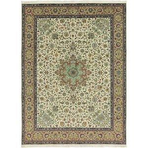 HandKnotted 9' 8 x 13' Tabriz Persian Rug