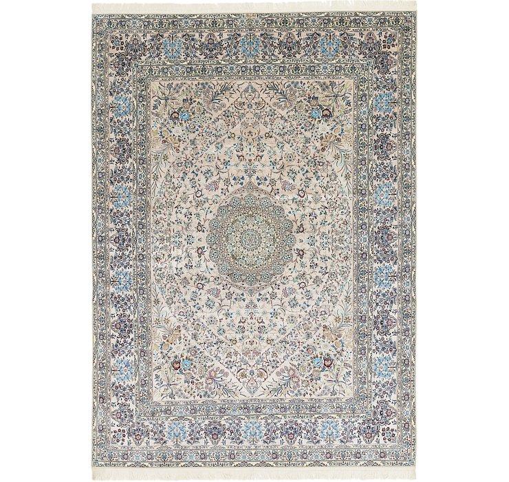 8' 7 x 12' 2 Nain Persian Rug