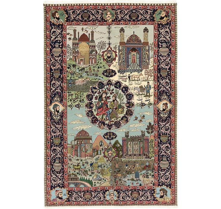 183cm x 280cm Tabriz Persian Rug