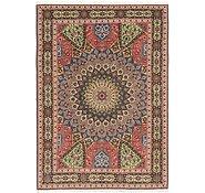 Link to 5' 5 x 8' Tabriz Persian Rug