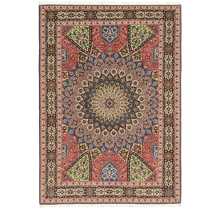 5' 5 x 8' Tabriz Persian Rug
