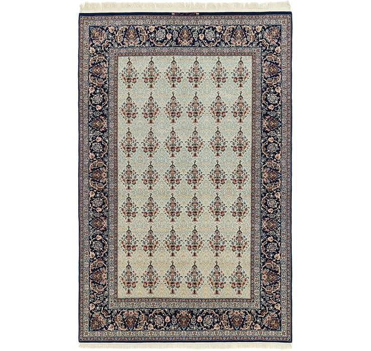6' 5 x 9' 11 Isfahan Persian Rug