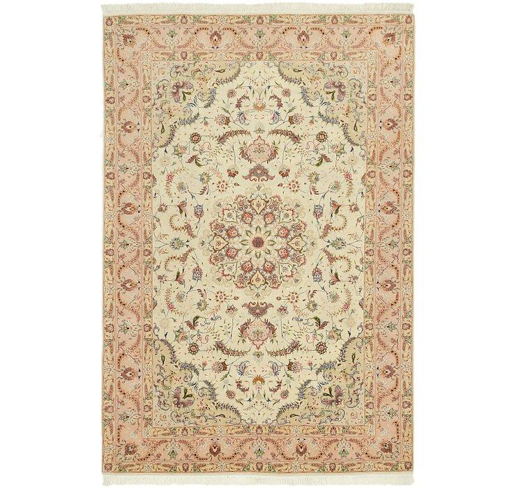 6' 6 x 9' 9 Tabriz Persian Rug