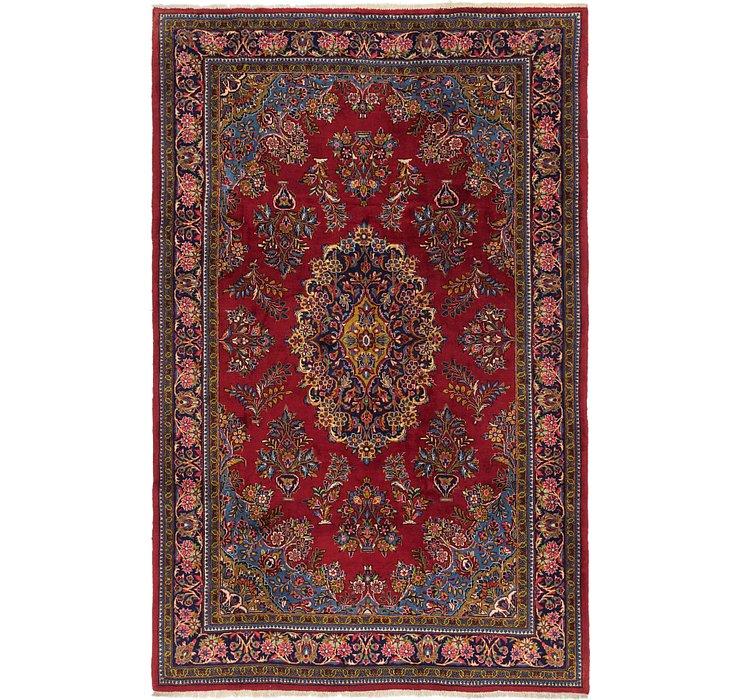 7' x 11' Golpayegan Persian Rug