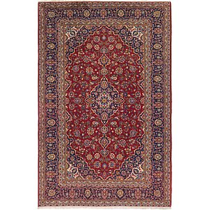 Link to 235cm x 355cm Kashan Persian Rug page