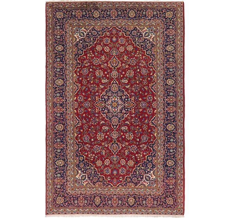 7' 9 x 11' 8 Kashan Persian Rug