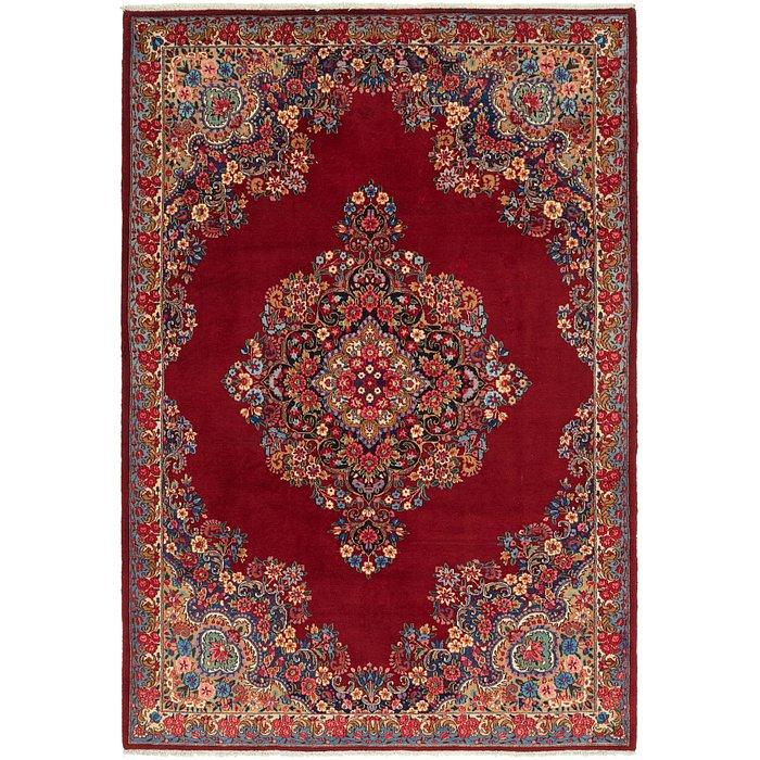 7' x 10' 6 Yazd Persian Rug