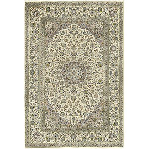 Link to 6' 5 x 9' 6 Kashan Persian Rug item page