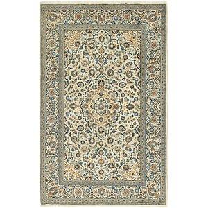 6' 7 x 10' 4 Kashan Persian Rug