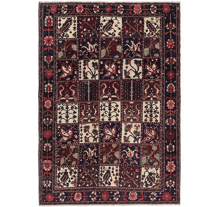 7' x 10' 4 Bakhtiar Persian Rug