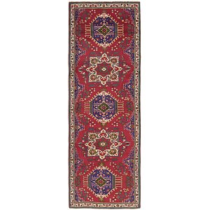 Link to 122cm x 390cm Tabriz Persian Runner Rug item page