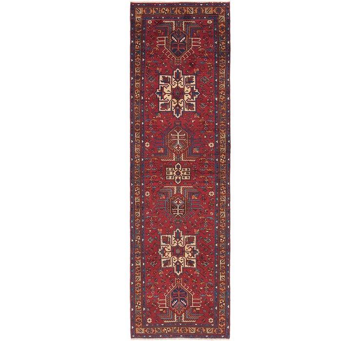 3' 6 x 12' 9 Karaja Persian Runner Rug