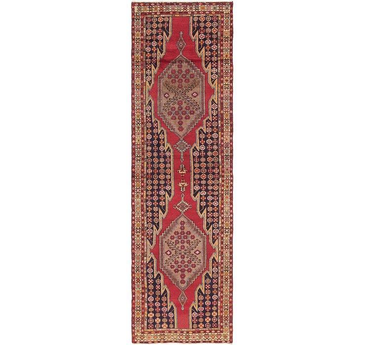 3' 6 x 12' 10 Mazlaghan Persian Runne...