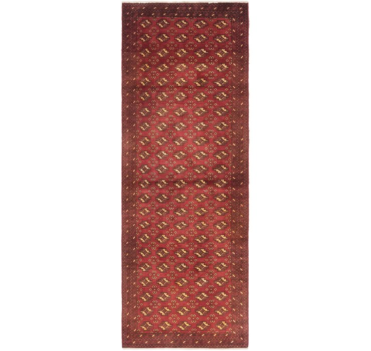 3' x 9' Balouch Persian Runner ...
