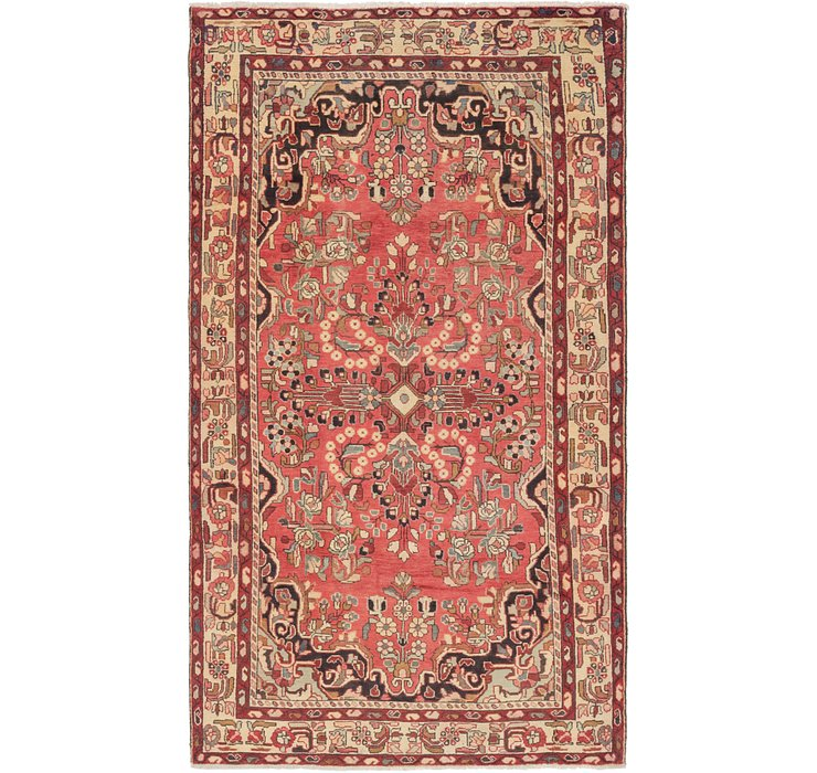 5' x 9' 2 Borchelu Persian Rug