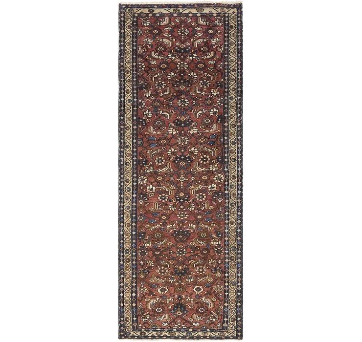 3' 4 x 9' 9 Shahsavand Persian Runn...