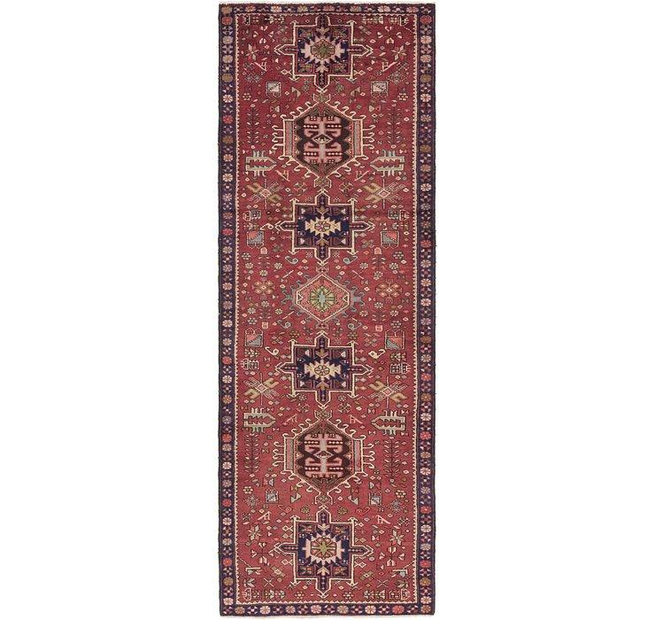 3' 9 x 11' 2 Karaja Persian Runner Rug