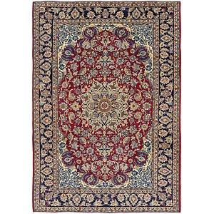8' 4 x 11' 10 Isfahan Persian Rug