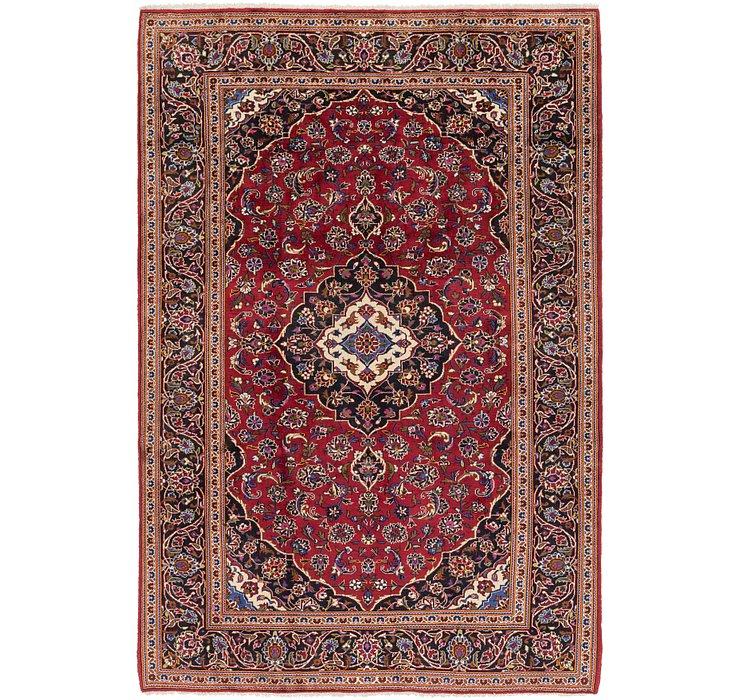 205cm x 305cm Kashan Persian Rug