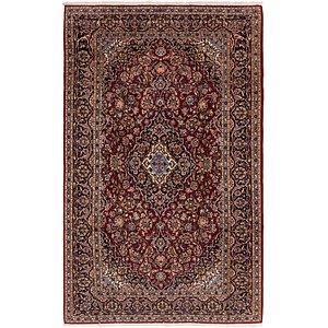 7' 2 x 11' 4 Kashan Persian Rug