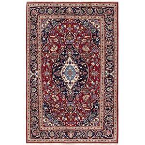 6' 5 x 9' 9 Kashan Persian Rug