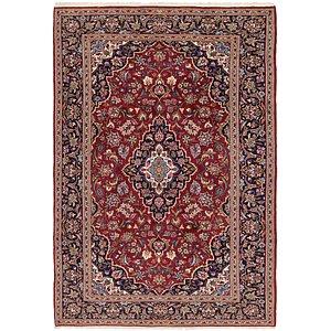6' 10 x 10' Kashan Persian Rug