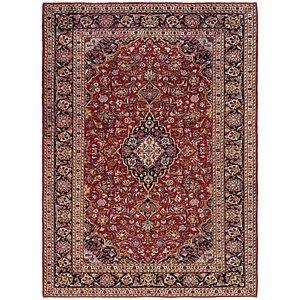 Unique Loom 6' 10 x 9' 6 Kashan Persian Rug