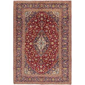 Unique Loom 6' 10 x 9' 9 Kashan Persian Rug