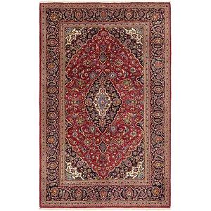 Unique Loom 6' 5 x 10' 6 Kashan Persian Rug