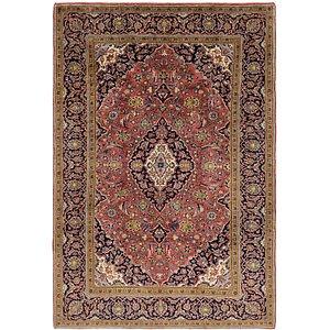 Unique Loom 6' 6 x 10' Kashan Persian Rug