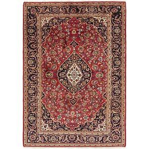 Unique Loom 6' 10 x 9' 8 Kashan Persian Rug