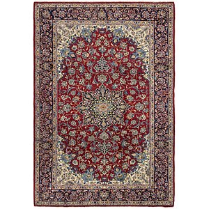 7' 10 x 11' 7 Isfahan Persian Rug