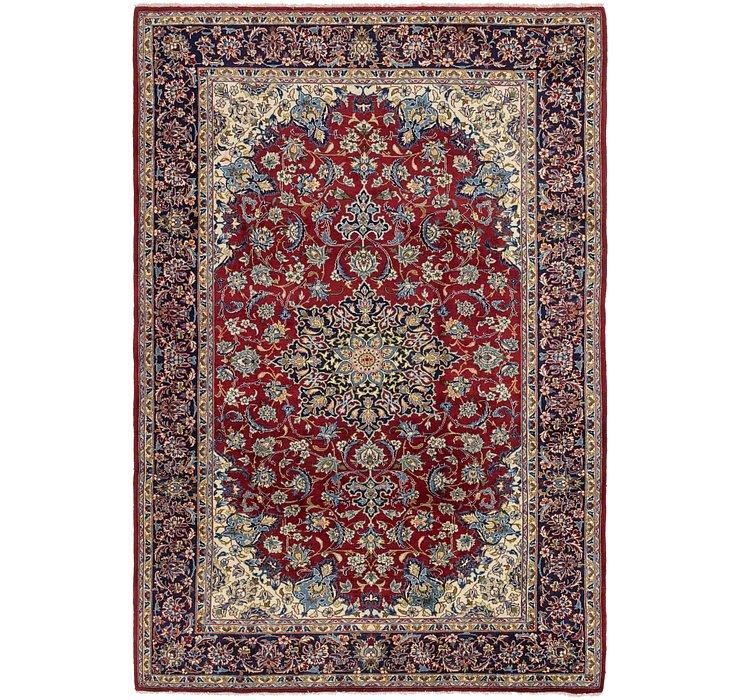 240cm x 353cm Isfahan Persian Rug