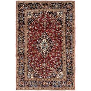6' 9 x 10' 4 Kashan Persian Rug