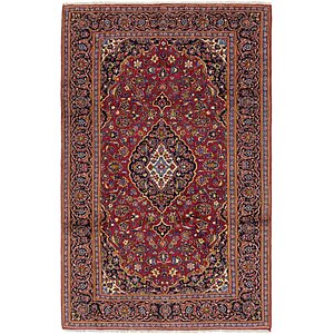 Unique Loom 6' 8 x 10' 6 Kashan Persian Rug