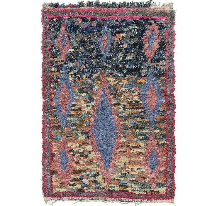 4' 9 x 7' 3 Moroccan Rug