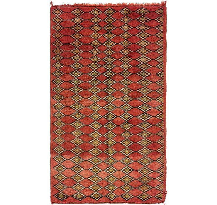 6' x 11' Moroccan Runner Rug