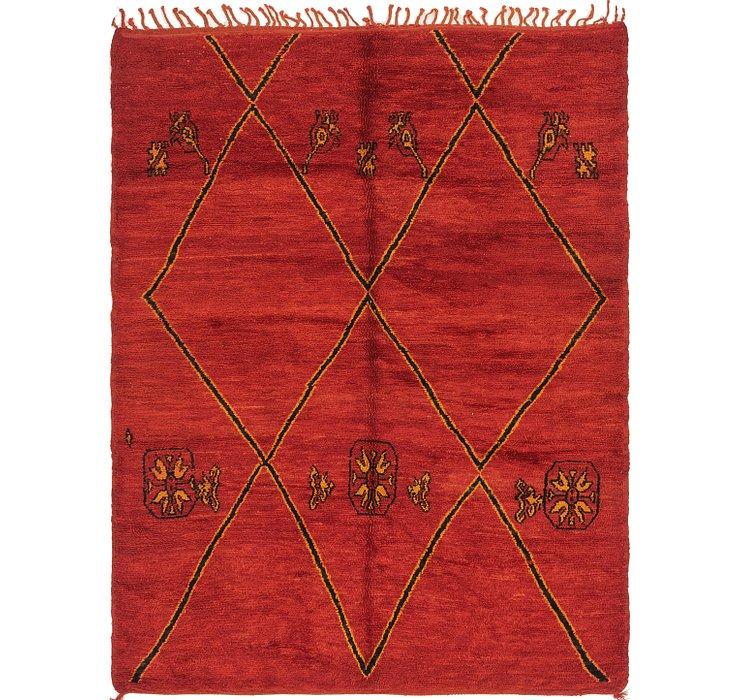 6' 3 x 7' 10 Moroccan Rug