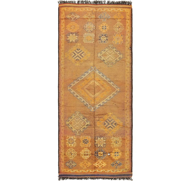 HandKnotted 5' 10 x 15' Moroccan Runner Rug