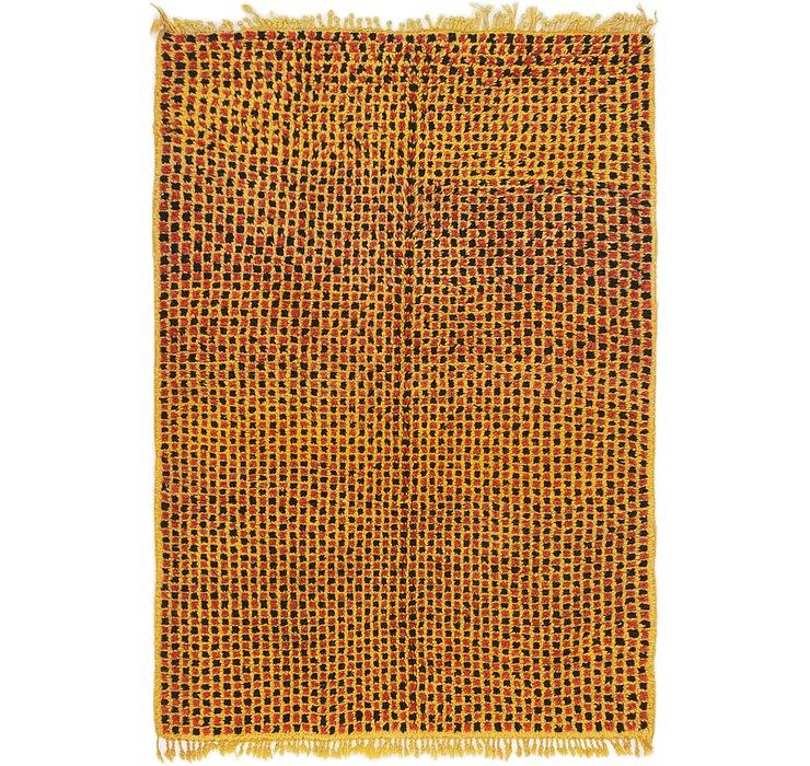 4' 2 x 5' 10 Moroccan Rug