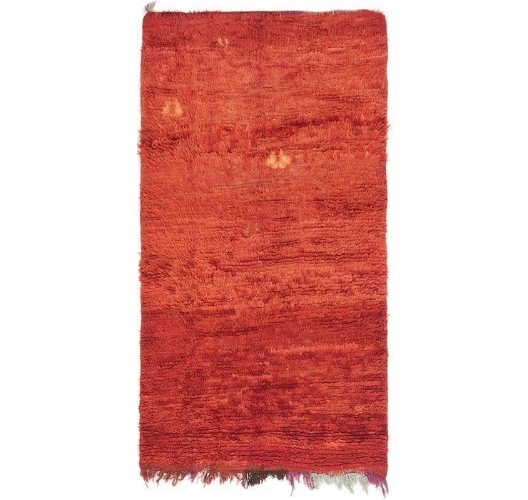 3' 2 x 5' 10 Moroccan Rug