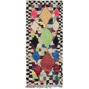 Link to 90cm x 225cm Moroccan Runner Rug item page